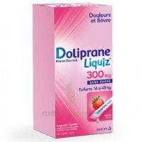 Dolipraneliquiz 300 mg Suspension buvable en sachet sans sucre édulcorée au maltitol liquide et au sorbitol B/12 à VERNON