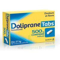 DOLIPRANETABS 500 mg Comprimés pelliculés Plq/16 à VERNON