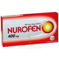 NUROFEN 400 mg Comprimés enrobés Plq/12 à VERNON