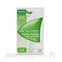NICORETTE 4 mg Gom à mâcher médic sans sucre menthe fraîche Plq/30gom à VERNON