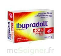 IBUPRADOLL 400 mg Caps molle Plq/10 à VERNON