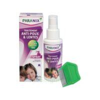 Paranix Solution antipoux Huiles essentielles 100ml+peigne à VERNON