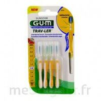 Gum Trav - Ler, 1,3 Mm, Manche Jaune , Blister 4 à VERNON