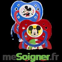 Dodie Disney Sucette anatomique silicone +6mois Mickey Lot/2 à VERNON