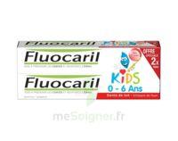 Fluocaril Kids Gel dentifrice Fraise 0/6ans 2*50ml à VERNON