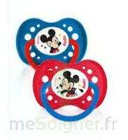 Dodie Disney sucettes silicone +18 mois Mickey Duo à VERNON