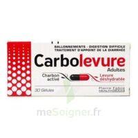 Carbolevure Gélules Adulte Plq/30 à VERNON