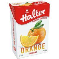 Halter Bonbon sans sucre orange 40g à VERNON