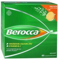 Berocca Comprimés effervescents sans sucre T/60 à VERNON