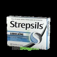 Strepsils lidocaïne Pastilles Plq/24 à VERNON