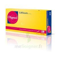 Oligosol Lithium Solution buvable en ampoule ou en récipient unidose 28Amp/2ml à VERNON