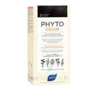 Phytocolor Kit Coloration Permanente 3 Châtain Foncé à VERNON