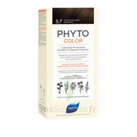 Phytocolor Kit coloration permanente 5.7 Châtain clair marron à VERNON