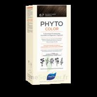 Phytocolor Kit coloration permanente 6.7 Blond foncé marron à VERNON