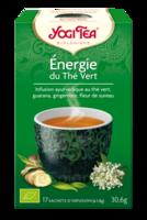 Yogi Tea Thé énergie du thé vert bio 17 Sachets à VERNON