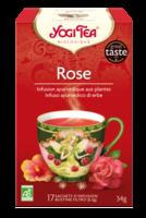 Yogi Tea Thé Tao Tea Rose Bio 17 Sachets à VERNON