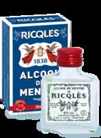 Ricqles 80° Alcool de menthe 30ml à VERNON
