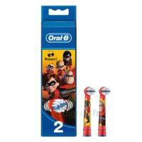 Oral B Incredibles 2 Brossette kids Blister/2 à VERNON