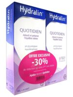 Hydralin Quotidien Gel lavant usage intime 2*200ml à VERNON