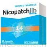 NICOPATCHLIB 14 mg/24 h Dispositifs transdermiques B/7 à VERNON