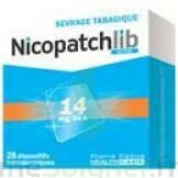 NICOPATCHLIB 14 mg/24 h Dispositifs transdermiques B/28 à VERNON