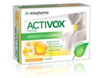 Activox Sans Sucre Pastilles Miel Citron B/24 à VERNON