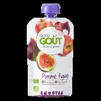 Good Goût Alimentation infantile pomme figue Gourde/120g à VERNON
