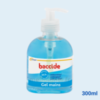 Baccide Gel Mains Désinfectant Sans Rinçage 300ml à VERNON