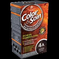 COLOR&SOIN Kit coloration permanente 4A marron glacé à VERNON