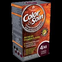 COLOR&SOIN Kit coloration permanente 4M châtain acajou à VERNON
