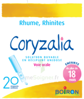 Boiron Coryzalia Solution buvable unidose B/20 à VERNON
