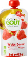 Good Goût Alimentation infantile fraise banane Gourde/120g à VERNON