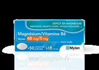 MAGNESIUM/VITAMINE B6 MYLAN 48 mg/5 mg, comprimé pelliculé à VERNON
