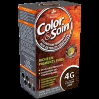 COLOR&SOIN Kit coloration permanente 4G châtain doré à VERNON