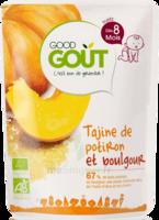 Good Goût Alimentation infantile tajine de potiron boulgour Sachet/190g à VERNON
